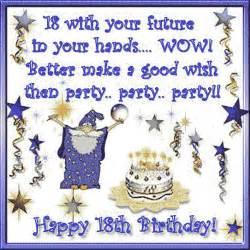 happy birthday 18 year old in my world