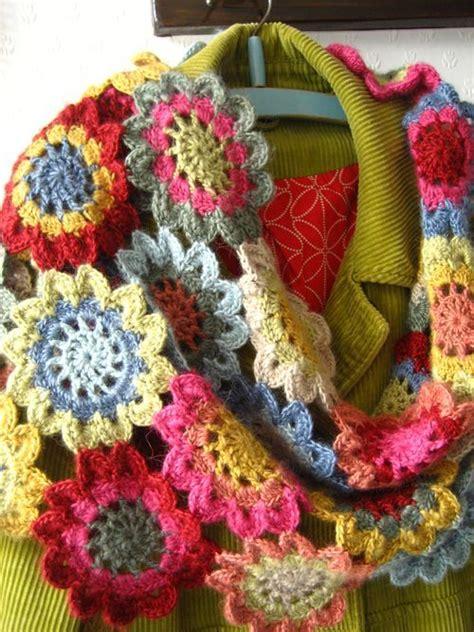 japanese knitting scarf pattern japanese flower scarf no pattern behind link she got it
