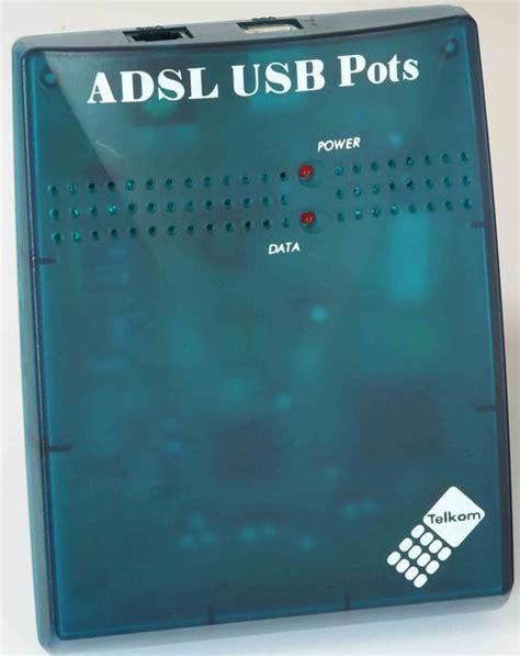 Modem Adsl Telkom modems telkom adsl usb modem marconi was sold for r35 00 on 1 apr at 21 46 by proco in