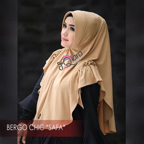 hijab bergo chic safa fashion hijab terbaru  trend