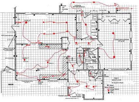 house wiring plan drawing house design ideas