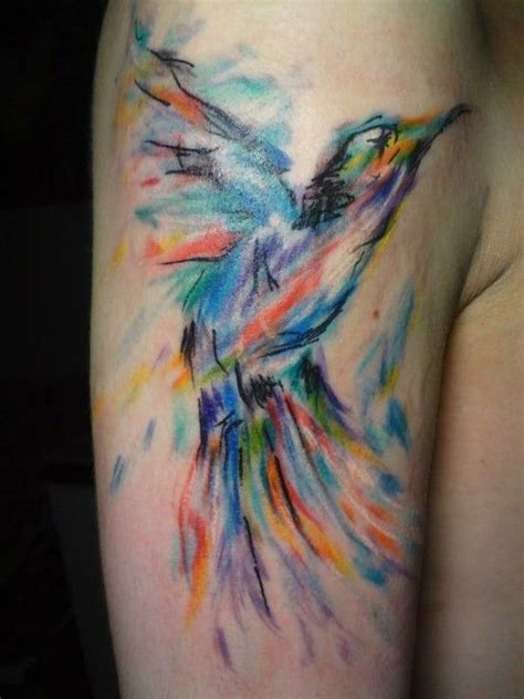 watercolor tattoos nashville 25 best watercolor bird tattoos ideas on