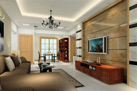 Dining Room Wall Panels by 3d Design Imitation Wood Tv Wall 3d House