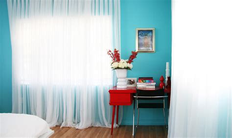 turquoise wall paint bedroom contemporary with bold colors bright colors beeyoutifullife