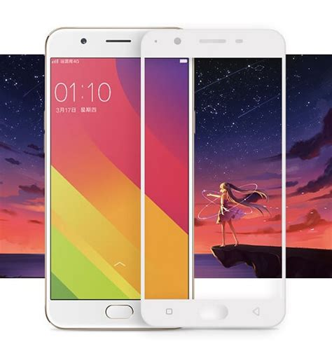 Tempered Glass Oppo F1s A59 Warna Color Edge 3d Layar 25d tempered glass screen guard for oppo f1s oppo a59