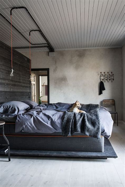 Industrial Bedroom Decor Ideas by 25 Stylish Industrial Bedroom Design Ideas