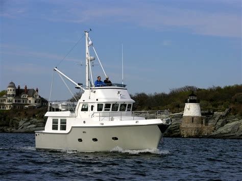 most affordable fishing boats five affordable trawlers under 40 feet boats