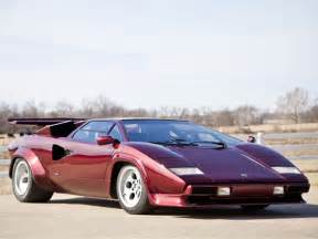 1980 Lamborghini Countach Lp400s Efi Converted 1980 Lamborghini Countach Lp400s Bring A