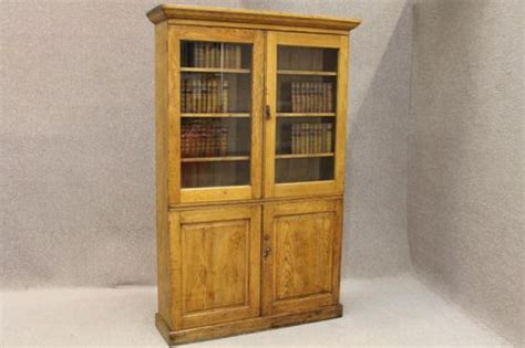edwardian oak bookcase kitchen cupboard antiques atlas