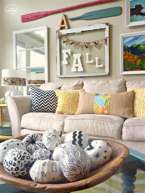 fall living room ideas fall ifying the living room the happy housie
