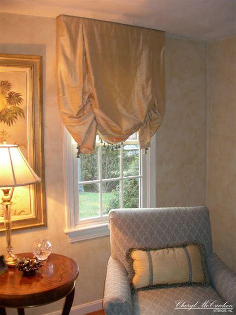 gold silk roman shades curtains boston  cheryl
