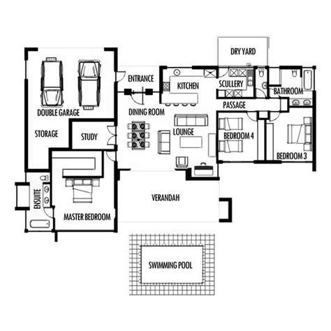 3 bedroom cabin plans 3 bedroom 285m2 floor plan only houseplanshq