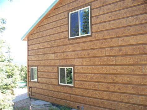 log siding in utah 17 best images about everlog siding concrete log homes on