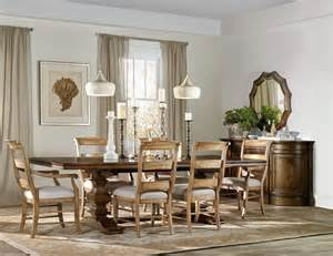 Hooker Dining Room Tables hooker furniture dining room archivist trestle table w 2 18in leaves