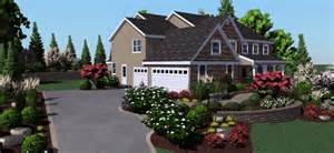 Visionscape Landscape Design Software Real Photo House Landscaping Landscape Software