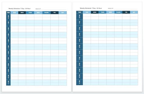 printable weekly planner cards template simple monthly calendar template