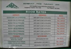 room prices room rates picture of benguet pine tourist inn baguio