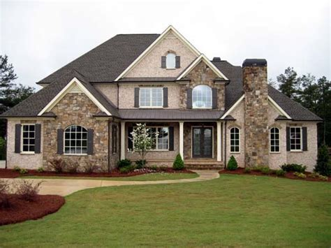 family homes european house plan 50250 3 car garage exterior colors