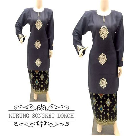 baju kurung moden songket dokoh ii all sold out