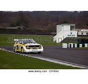 Audi Quattro Group B Rally Car On The Rallying Track At