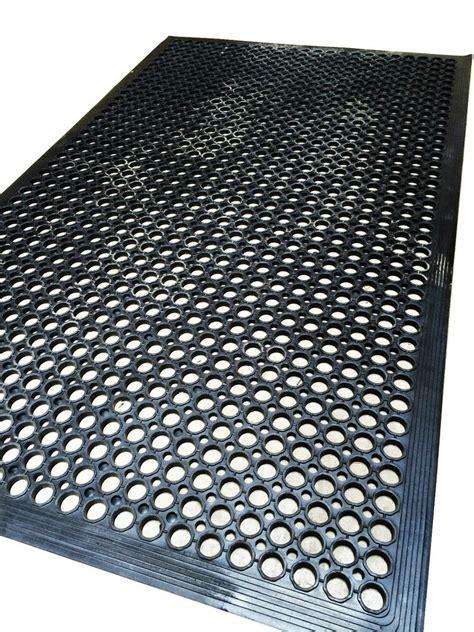 Anti Slip Decking Work Floor Rubber Mat Anti Fatigue