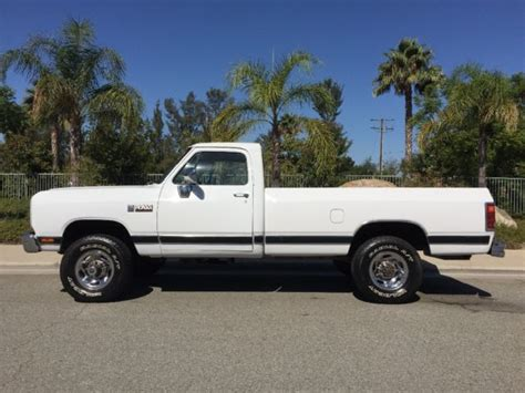 1990 dodge ram cummins for sale 1990 dodge ram w250 cummins diesel 4x4 5 speed manual for