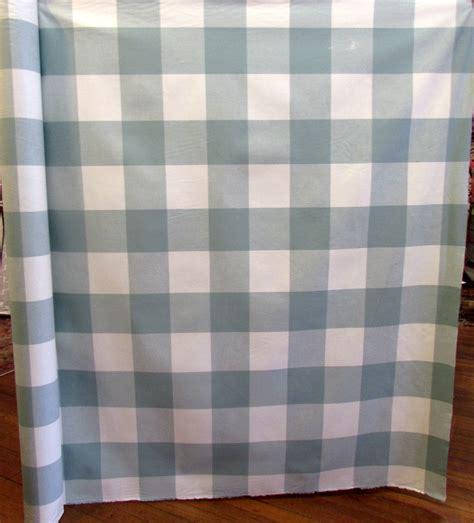 Buffalo Check Upholstery Fabric by Buffalo Check In Seabreeze Designer Decorator Drapery
