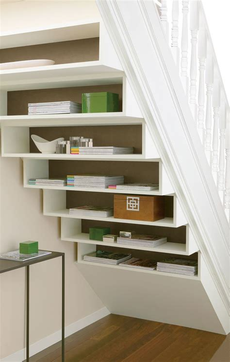 under stair shelving 1000 ideas about staircase storage on pinterest stair