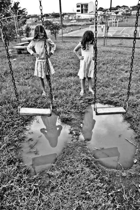 trying swinging girls trying to swing remind us that innocence persists