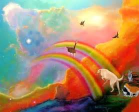 Rainbow bridge dog chocolate lab for pinterest