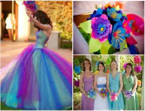 will you a colorful wedding decoration weddings