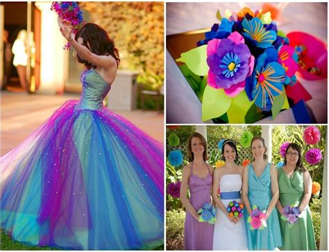 colorful wedding will you a colorful wedding decoration weddings