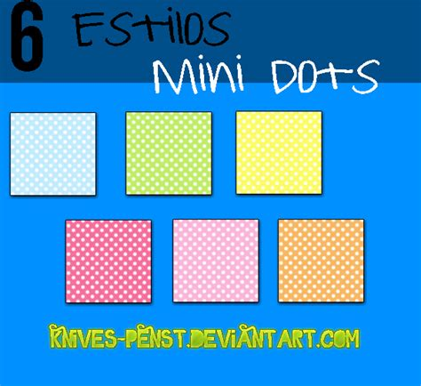 knife dots estilo mini dots by knives penst on deviantart