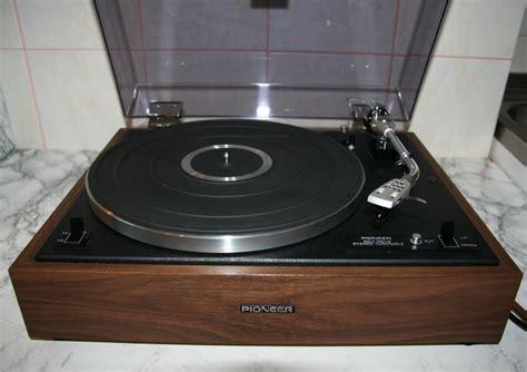 turn table golden age of audio pioneer pl 15 c turntable 1972