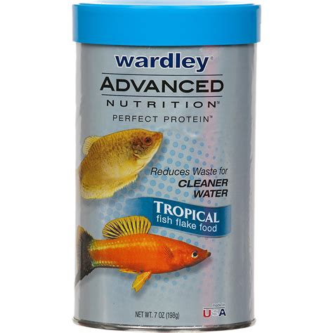 petco food wardley advanced nutrition protein tropical fish flake food petco