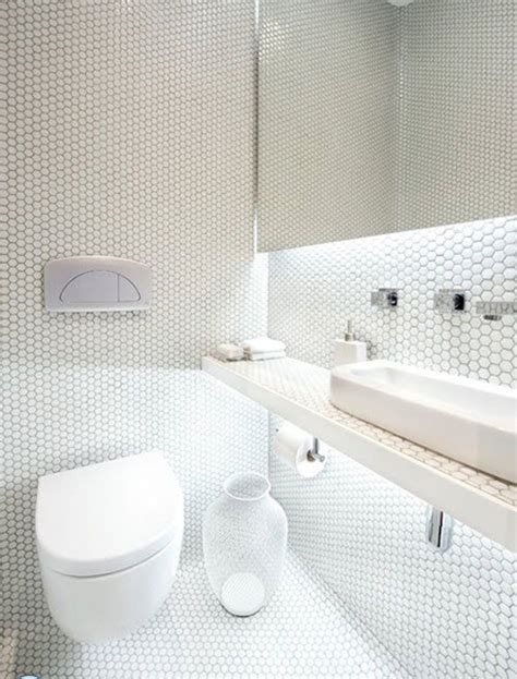 Bathroom Tile White by 30 White Mosaic Bathroom Floor Tile Ideas And Pictures