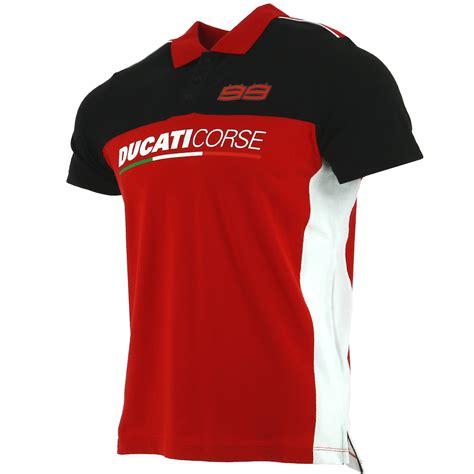 Kaos Polo Kerah Jorge Lorenzo Moto Gp ducati corse jorge lorenzo 99 moto gp racing panel polo camisa oficial 2018 ebay