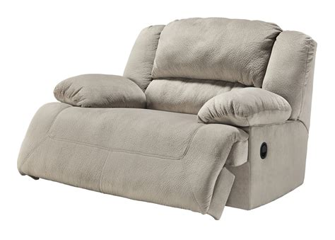 wide seat recliner toletta wide seat power recliner in granite 5670382