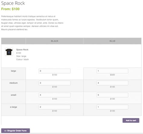 Yith Order Forms For W00c0mmerce Premium V1 0 0 1 woocommerce bulk variation forms v1 6 0