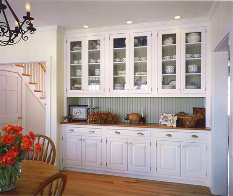 Decorating With Painted Bead Board Town Country Living Dining Room Built In Cabinets
