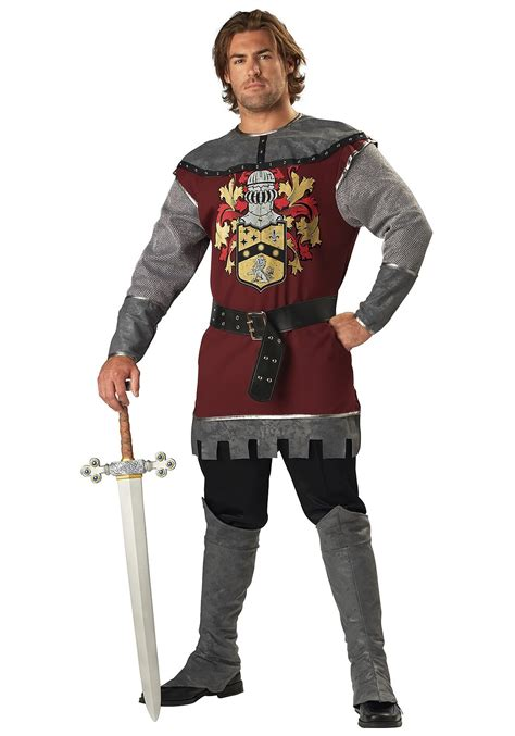 brave medieval knight costume mens renaissance costumes