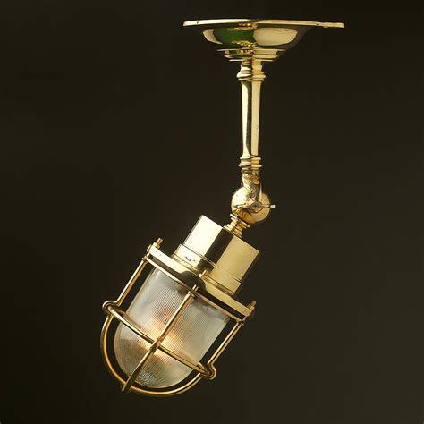 Adjustable Ships Caged Glass Ceiling Light Glass Ceiling Lights