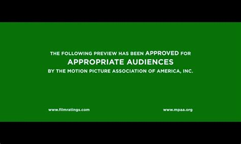 the mpaa has updated their trailer splash screen ditching