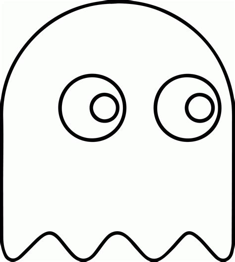 Pacman Ghost Coloring Page | pac man ghostly adventures coloring pages coloring home