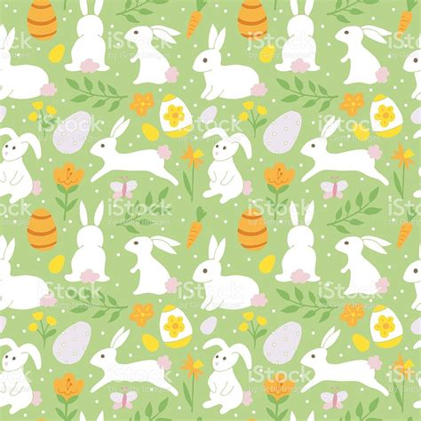 easter pattern background easter holiday background seamless pattern with easter