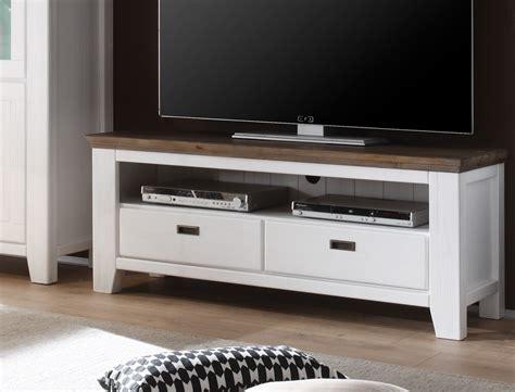 tv schrank weiss lowboard barnelund 140x55x45 akazie wei 223 tv m 246 bel tv