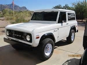 1970s Ford Bronco For Sale 1970 Ford Bronco Information And Photos Momentcar