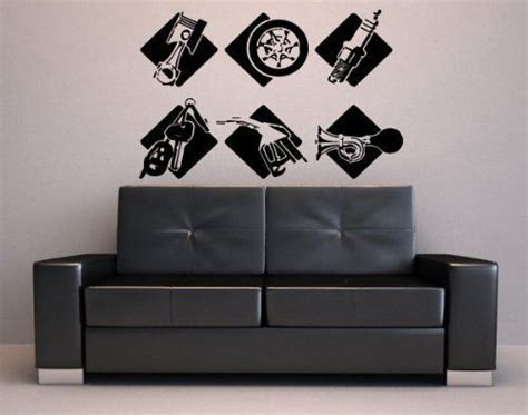 Auto Decals Shop by Wall Stickers Vinyl Decal Gas Station Auto Shop Signage