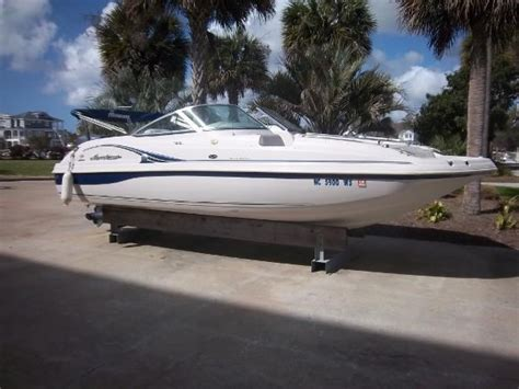 Hurricane Deck Boats For Sale by 2002 Hurricane 217 Sundeck Boat For Sale 21 Foot 2002