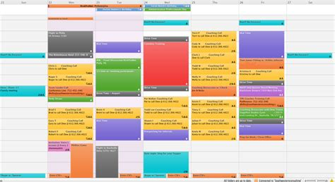 color coded calendar template 3 tips to an organized calendar sales coach dew